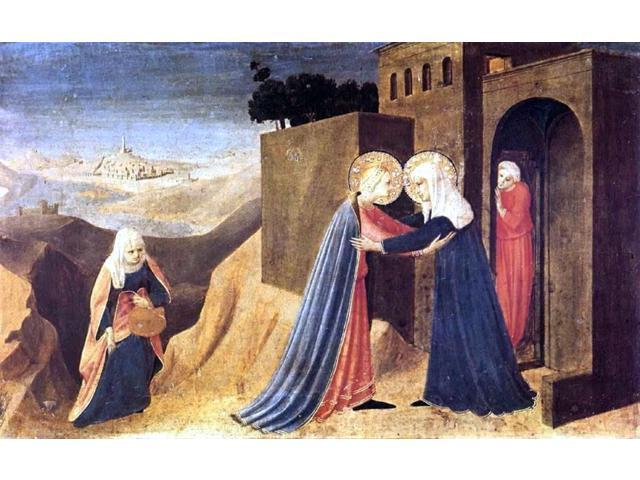 angelico visitation